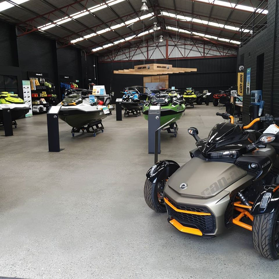 Coast and Country Powersports   Sea-Doo and Can-Am Dealer store front